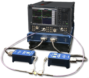 Setup of Focus Microwave's Modeling system using Keysight's PNA-X