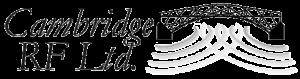 Cambridge RF Ltd. Logo greyscaled